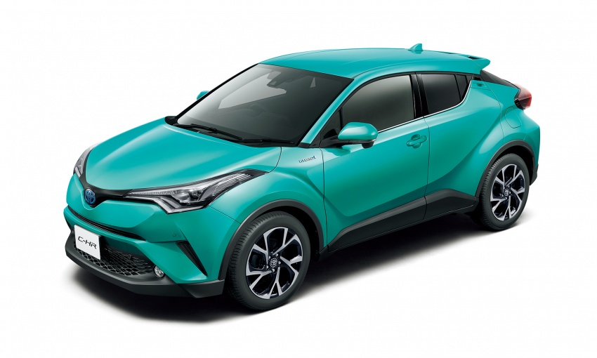 Toyota C-HR compact crossover launched in Japan – 1.2L Turbo 4WD, 1.8L Hybrid 2WD, from RM97k Image #591473