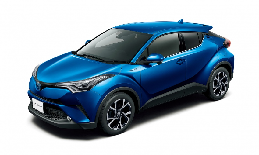 Toyota C-HR compact crossover launched in Japan – 1.2L Turbo 4WD, 1.8L Hybrid 2WD, from RM97k Image #591474