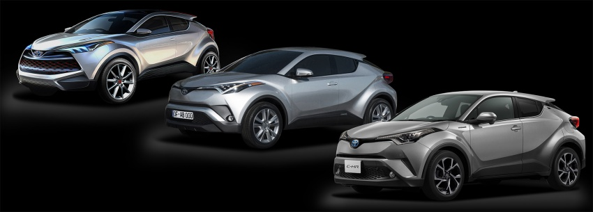 Toyota C-HR compact crossover launched in Japan – 1.2L Turbo 4WD, 1.8L Hybrid 2WD, from RM97k Image #591481