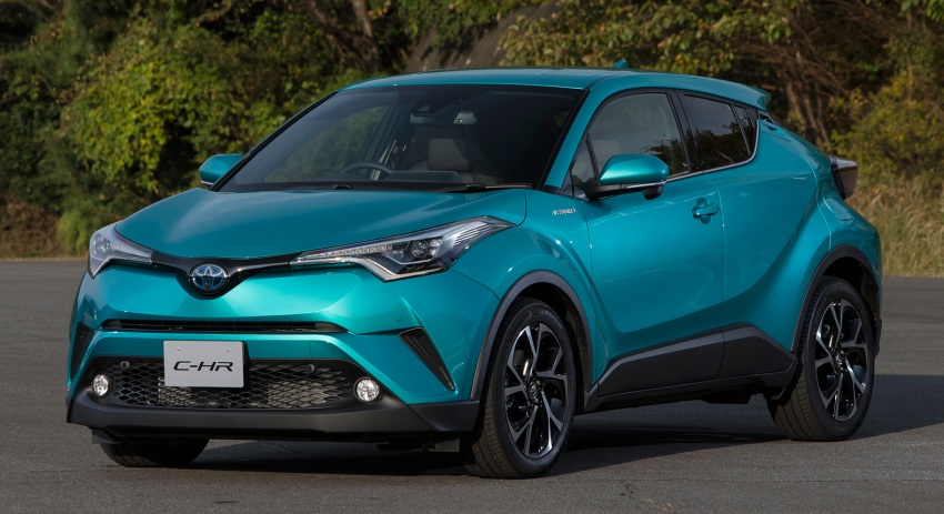 Toyota C-HR compact crossover launched in Japan – 1.2L Turbo 4WD, 1.8L Hybrid 2WD, from RM97k Image #591487