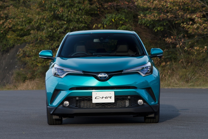 Toyota C-HR compact crossover launched in Japan – 1.2L Turbo 4WD, 1.8L Hybrid 2WD, from RM97k Image #591488