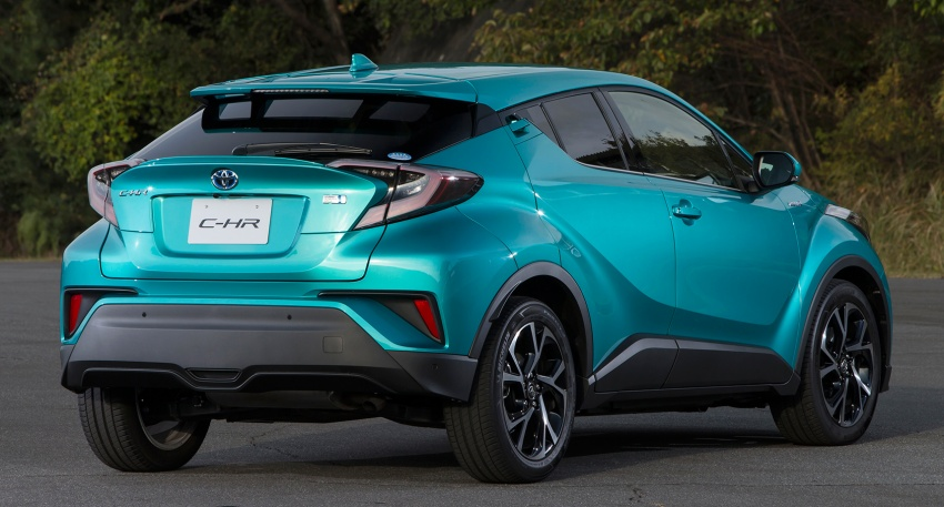 Toyota C-HR compact crossover launched in Japan – 1.2L Turbo 4WD, 1.8L Hybrid 2WD, from RM97k Image #591491