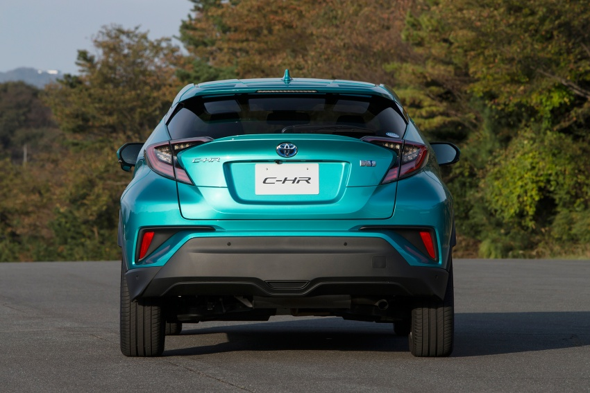 Toyota C-HR compact crossover launched in Japan – 1.2L Turbo 4WD, 1.8L Hybrid 2WD, from RM97k Image #591492