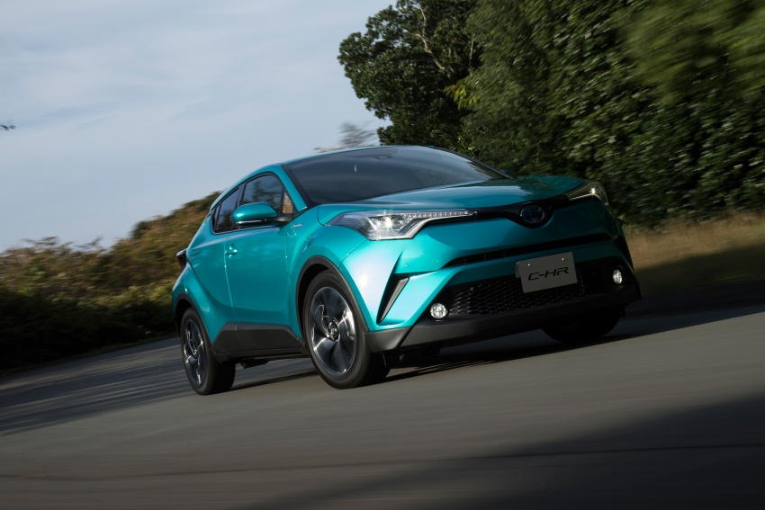 Toyota C-HR compact crossover launched in Japan – 1.2L Turbo 4WD, 1.8L Hybrid 2WD, from RM97k Image #591493
