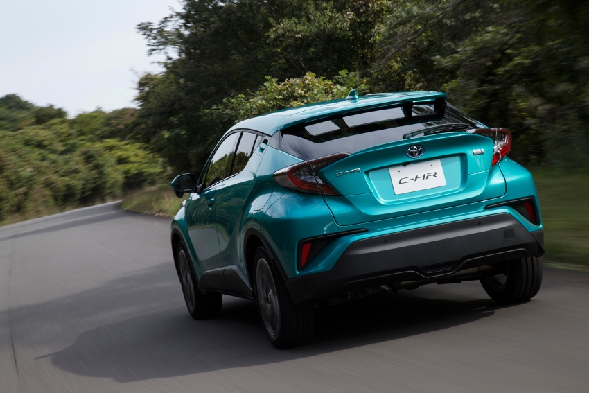Toyota C-HR compact crossover launched in Japan – 1.2L Turbo 4WD, 1.8L Hybrid 2WD, from RM97k Image #591494