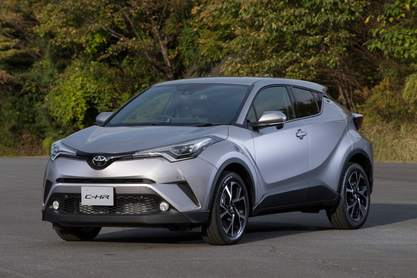 Toyota C-HR compact crossover launched in Japan – 1.2L Turbo 4WD, 1.8L Hybrid 2WD, from RM97k Image #591495