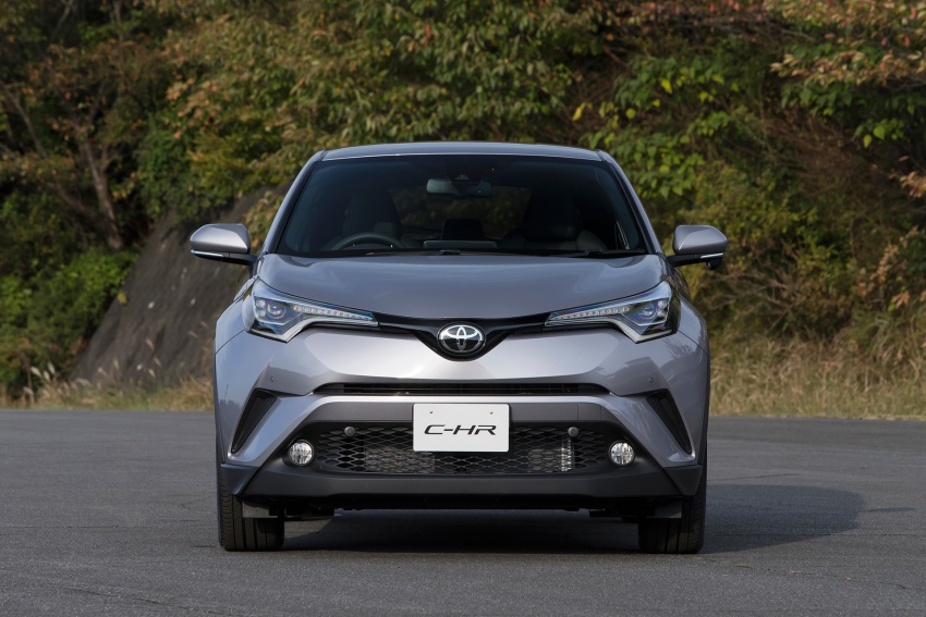 Toyota C-HR compact crossover launched in Japan – 1.2L Turbo 4WD, 1.8L Hybrid 2WD, from RM97k Image #591498