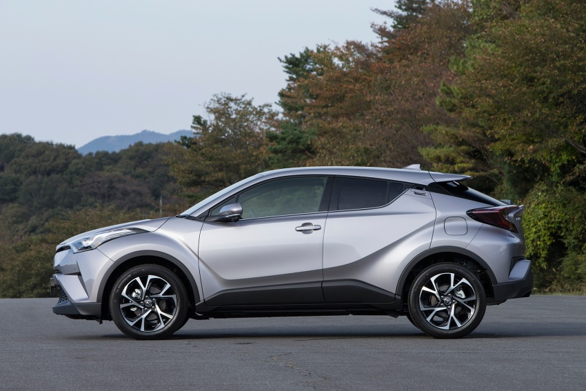 Toyota C-HR compact crossover launched in Japan – 1.2L Turbo 4WD, 1.8L Hybrid 2WD, from RM97k Image #591499