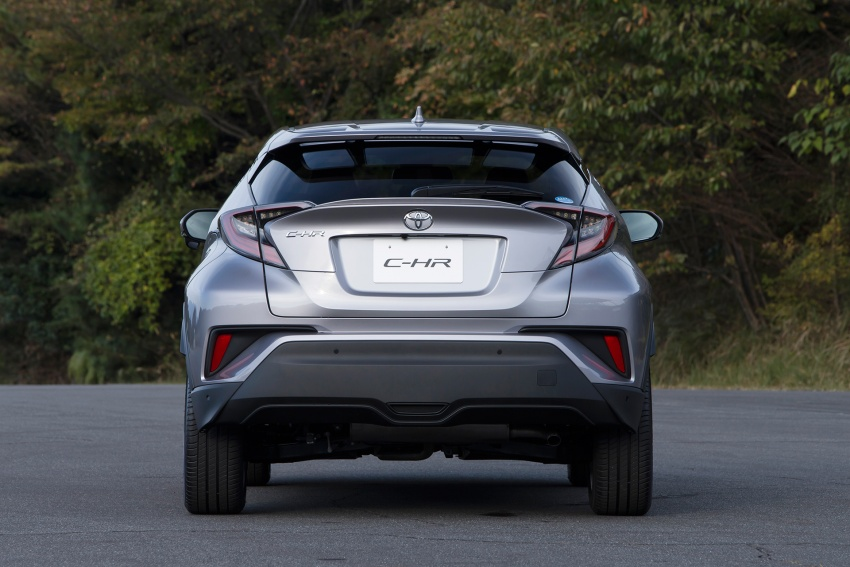 Toyota C-HR compact crossover launched in Japan – 1.2L Turbo 4WD, 1.8L Hybrid 2WD, from RM97k Image #591502