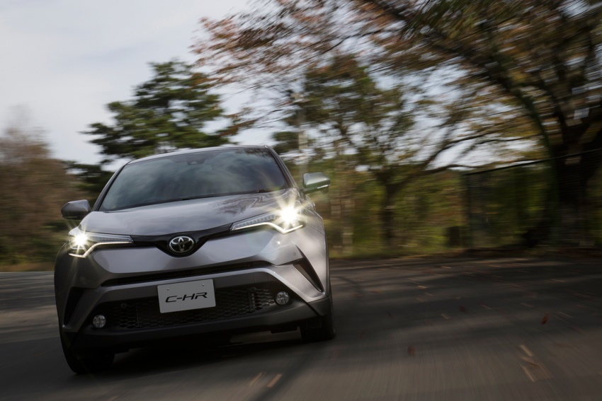 Toyota C-HR compact crossover launched in Japan – 1.2L Turbo 4WD, 1.8L Hybrid 2WD, from RM97k Image #591503