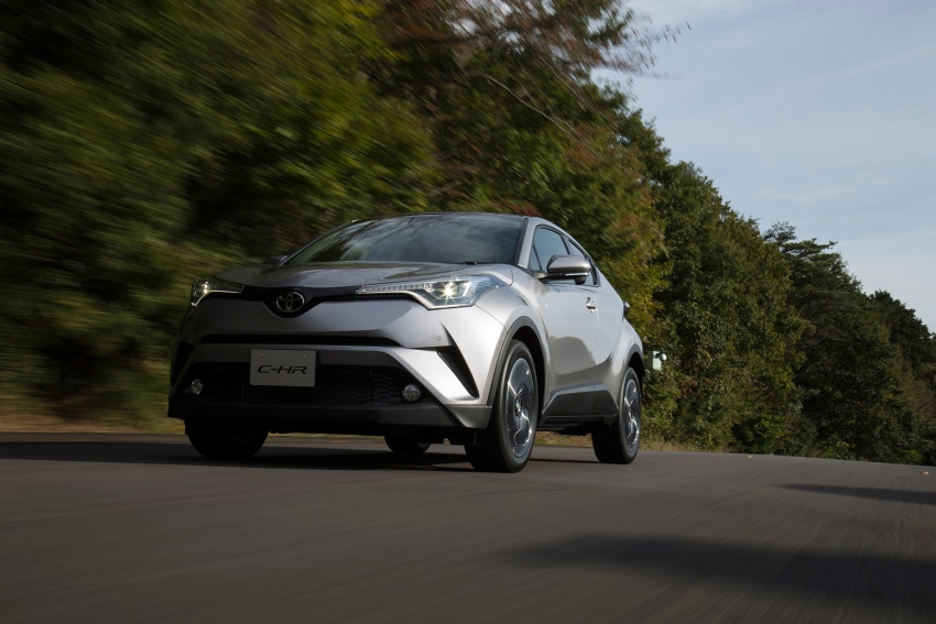 Toyota C-HR compact crossover launched in Japan – 1.2L Turbo 4WD, 1.8L Hybrid 2WD, from RM97k Image #591505