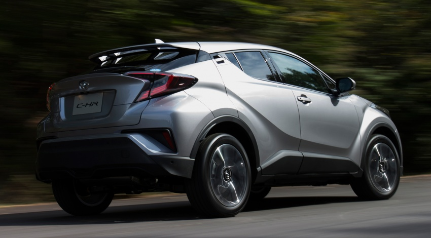 Toyota C-HR compact crossover launched in Japan – 1.2L Turbo 4WD, 1.8L Hybrid 2WD, from RM97k Image #591507