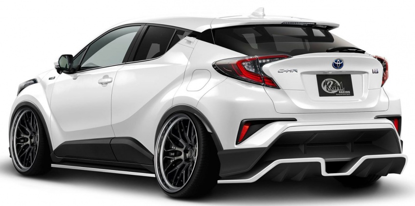 Toyota C-HR with Kuhl Racing styling kit previewed Image #593538