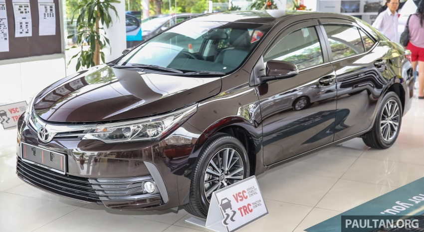Toyota Corolla Altis facelift now on sale, from RM121k Image #590049