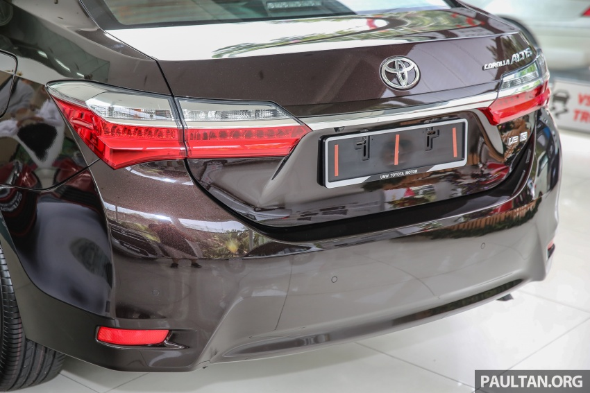 Toyota Corolla Altis facelift now on sale, from RM121k Image #590063