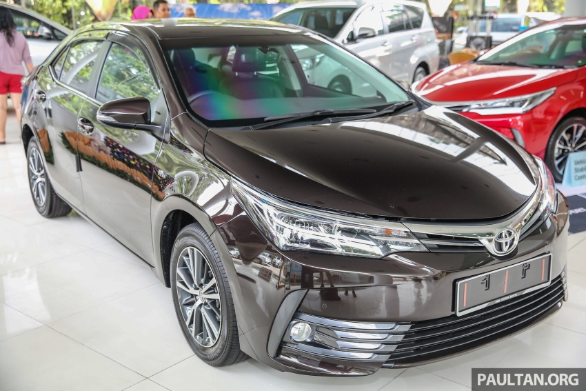 Toyota Corolla Altis facelift now on sale, from RM121k Image #590050