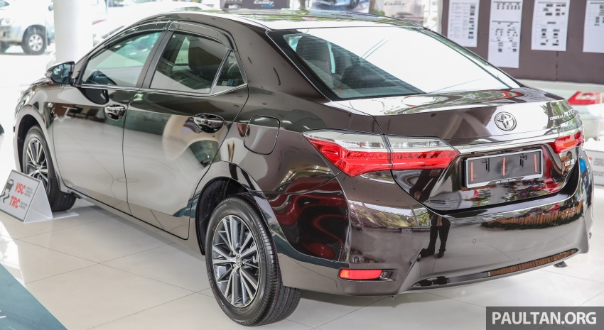 Toyota Corolla Altis facelift now on sale, from RM121k Image #590051