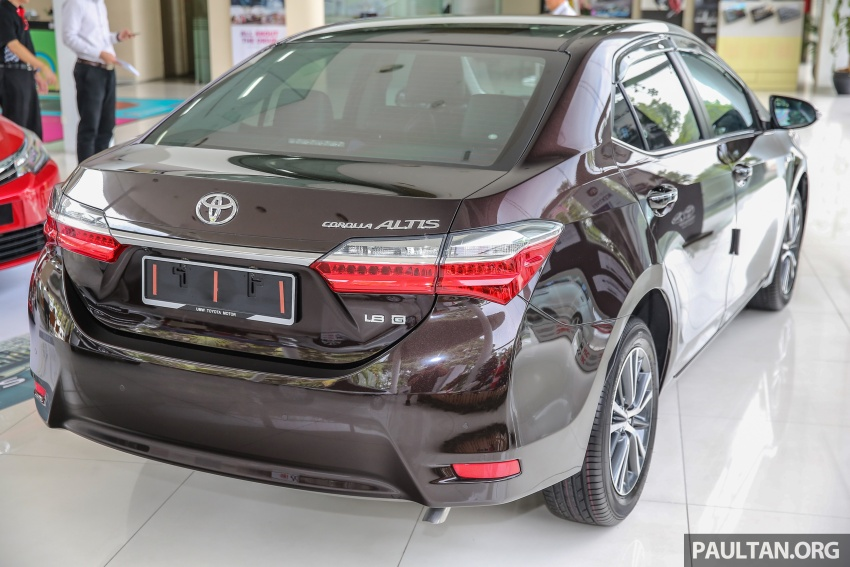 Toyota Corolla Altis facelift now on sale, from RM121k Image #590052