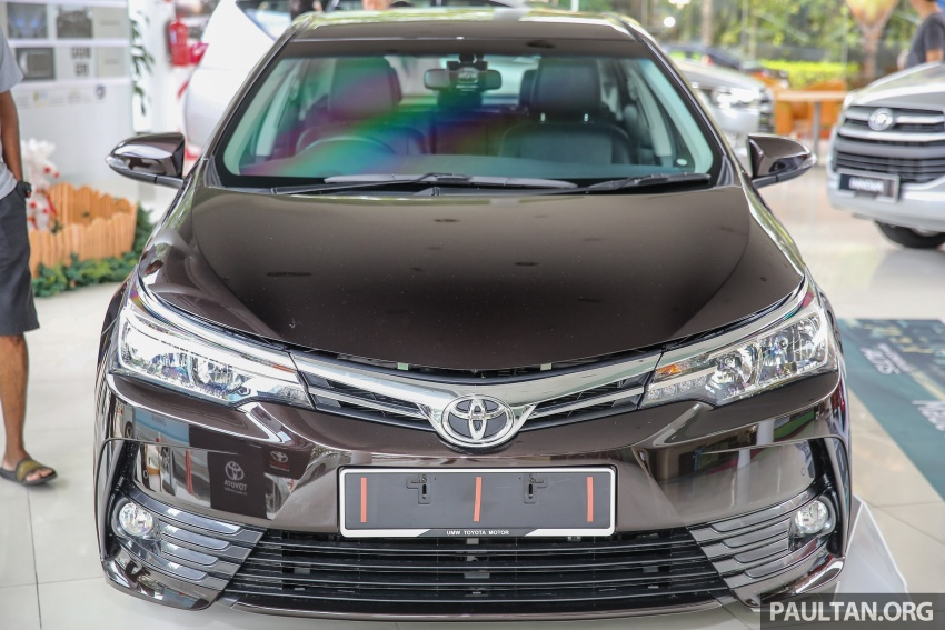 Toyota Corolla Altis facelift now on sale, from RM121k Image #590053