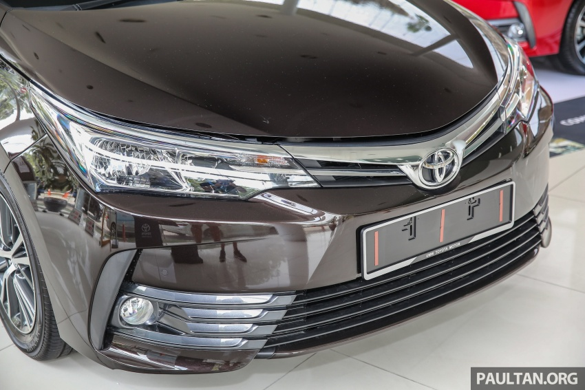 Toyota Corolla Altis facelift now on sale, from RM121k Image #590054