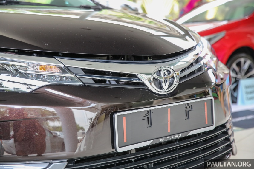 Toyota Corolla Altis facelift now on sale, from RM121k Image #590057