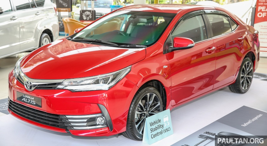 Toyota Corolla Altis facelift now on sale, from RM121k Image #590087