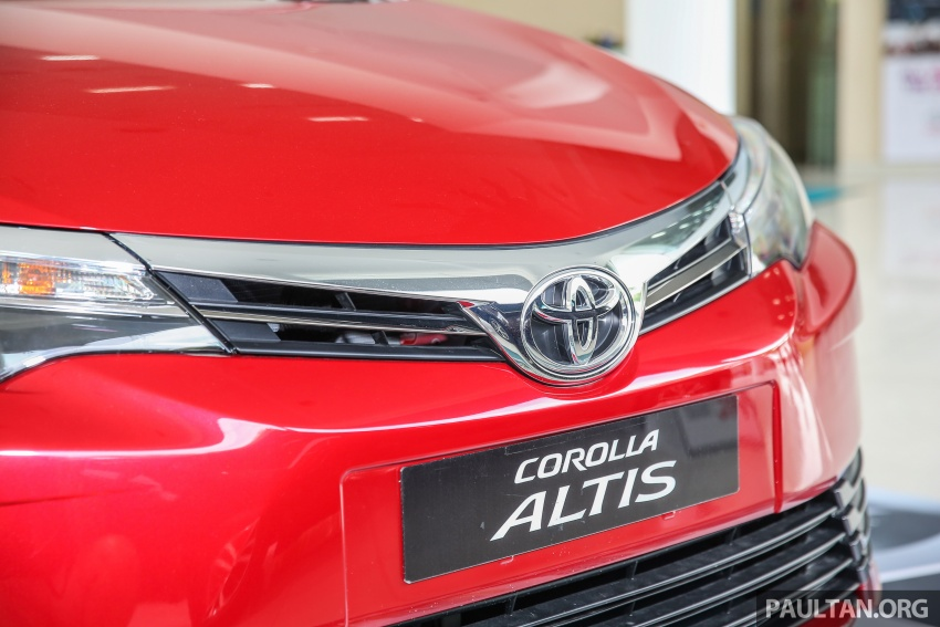 Toyota Corolla Altis facelift now on sale, from RM121k Image #590097