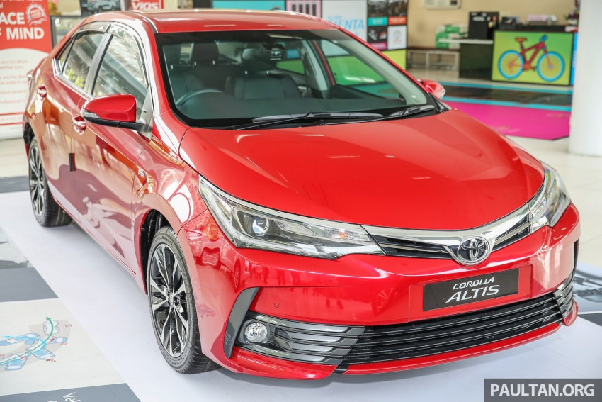 Toyota Corolla Altis facelift now on sale, from RM121k Image #590088