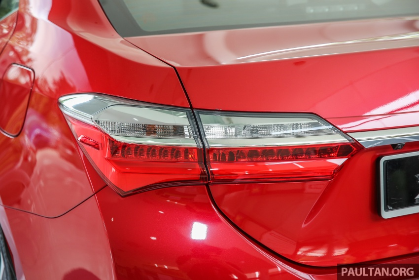 Toyota Corolla Altis facelift now on sale, from RM121k Image #590106