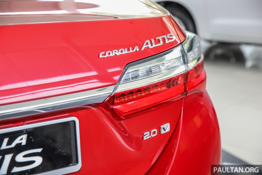 Toyota Corolla Altis facelift now on sale, from RM121k Image #590109