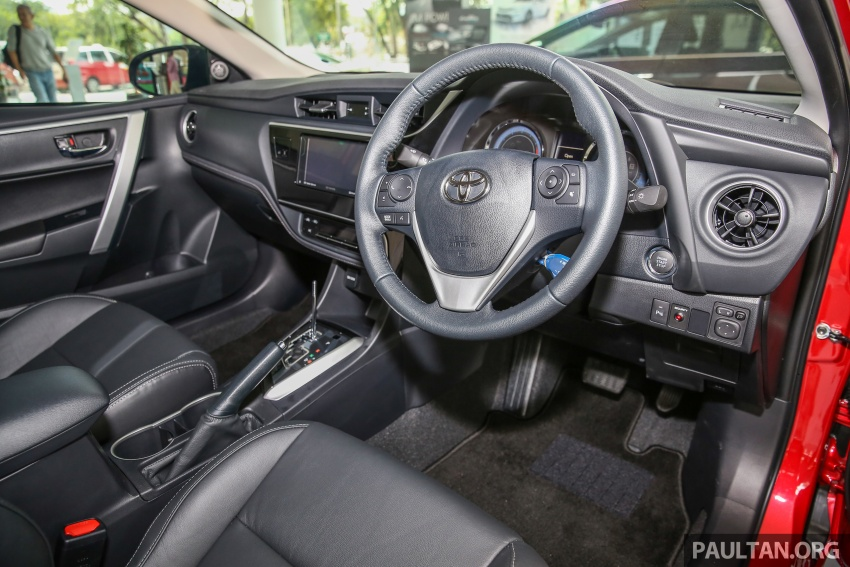 Toyota Corolla Altis facelift now on sale, from RM121k Image #590113