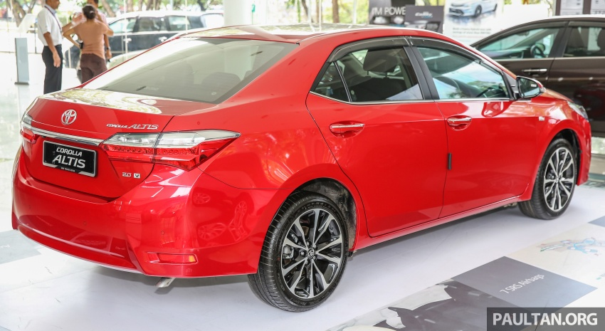 Toyota Corolla Altis facelift now on sale, from RM121k Image #590089
