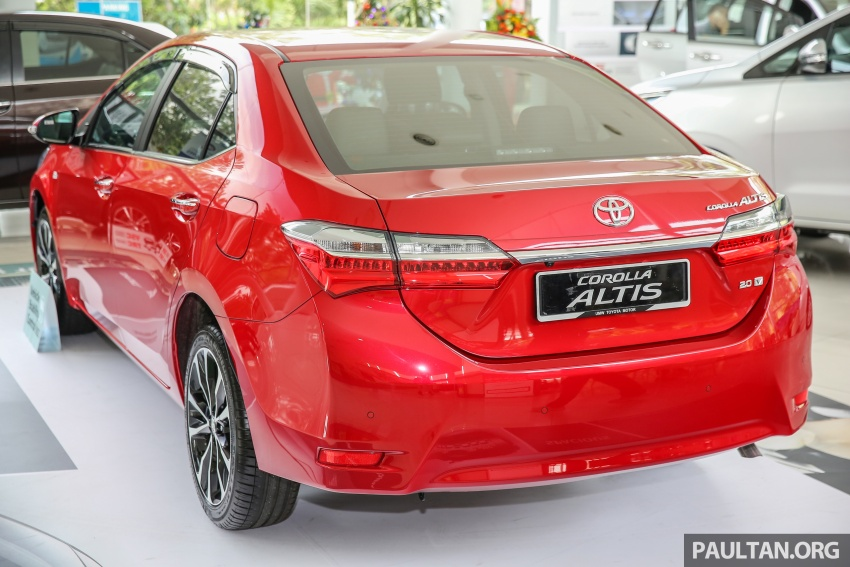 Toyota Corolla Altis facelift now on sale, from RM121k Image #590090