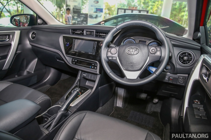 Toyota Corolla Altis facelift now on sale, from RM121k Image #590127