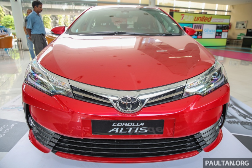 Toyota Corolla Altis facelift now on sale, from RM121k Image #590091