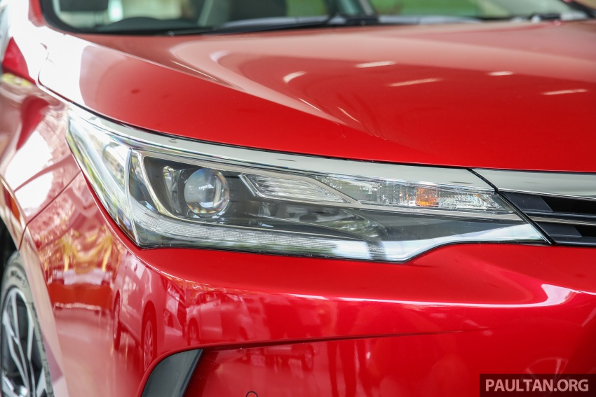 Toyota Corolla Altis facelift now on sale, from RM121k Image #590095