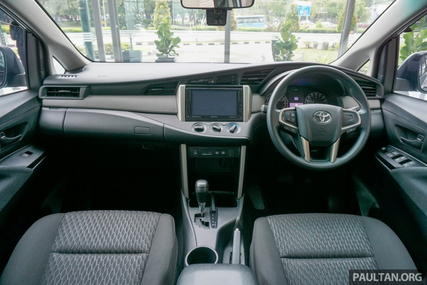 New Toyota Innova launched in Malaysia, from RM106k – 7 airbags, ESC, Dual VVT-i, more premium interior Image #588034