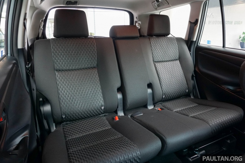 New Toyota Innova launched in Malaysia, from RM106k – 7 airbags, ESC, Dual VVT-i, more premium interior Image #588049