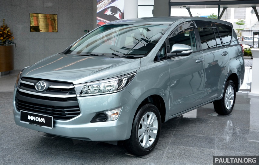 New Toyota Innova launched in Malaysia, from RM106k – 7 airbags, ESC, Dual VVT-i, more premium interior Image #588052