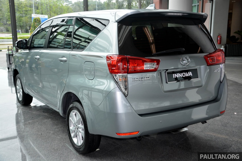 New Toyota Innova launched in Malaysia, from RM106k – 7 airbags, ESC, Dual VVT-i, more premium interior Image #588053