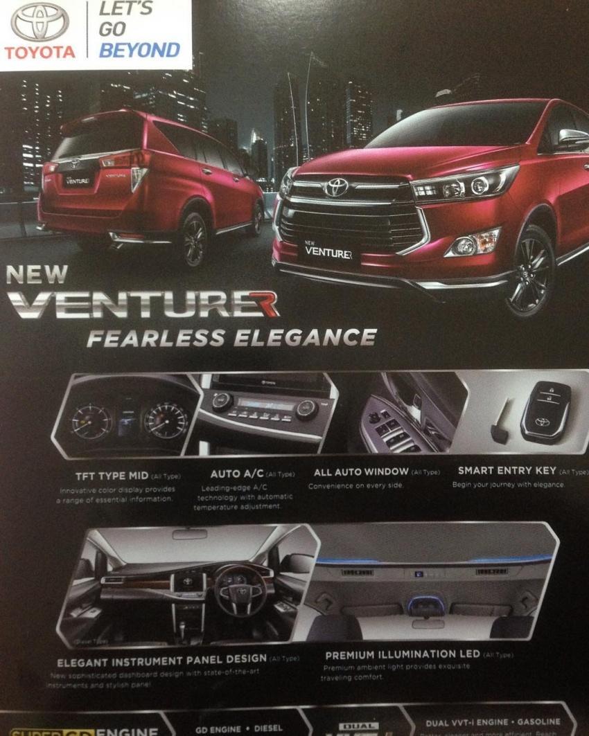 Toyota Innova Venturer Untuk Indonesia Dibongkar Image 597095