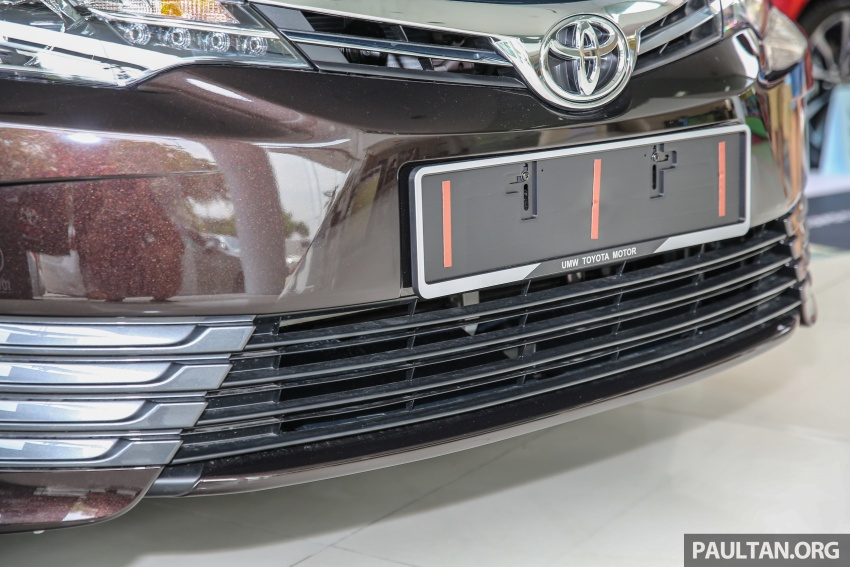 GALERI: Toyota Corolla Altis facelift 2016 kini di M'sia – 3 varian, 7 beg udara, VSC, harga dari RM117k Image #590416