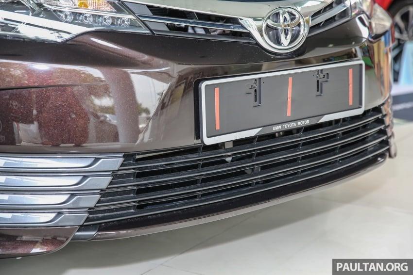 GALERI: Toyota Corolla Altis facelift 2016 kini di M'sia – 3 varian, 7 beg udara, VSC, harga dari RM117k Image #590377