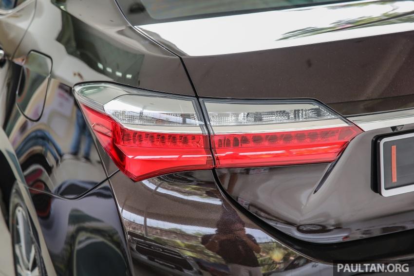GALERI: Toyota Corolla Altis facelift 2016 kini di M'sia – 3 varian, 7 beg udara, VSC, harga dari RM117k Image #590343