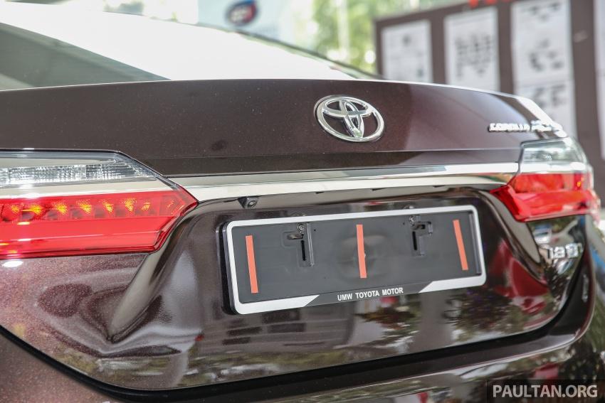 GALERI: Toyota Corolla Altis facelift 2016 kini di M'sia – 3 varian, 7 beg udara, VSC, harga dari RM117k Image #590394