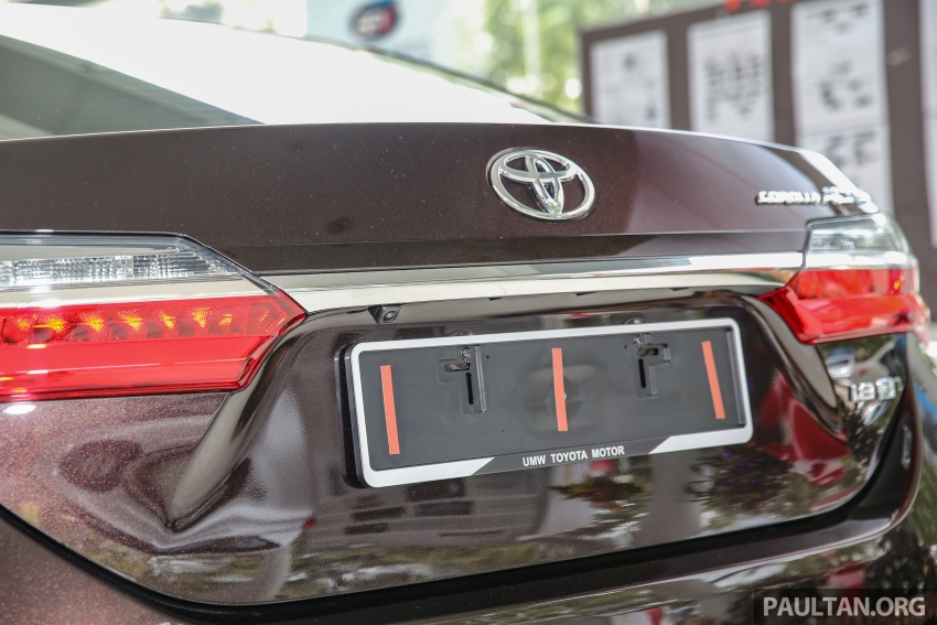 GALERI: Toyota Corolla Altis facelift 2016 kini di M'sia – 3 varian, 7 beg udara, VSC, harga dari RM117k Image #590345