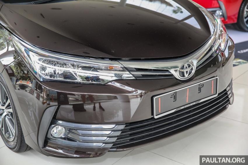 GALERI: Toyota Corolla Altis facelift 2016 kini di M'sia – 3 varian, 7 beg udara, VSC, harga dari RM117k Image #590333