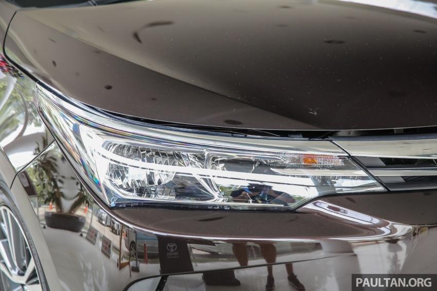 GALERI: Toyota Corolla Altis facelift 2016 kini di M'sia – 3 varian, 7 beg udara, VSC, harga dari RM117k Image #590334
