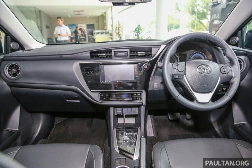 GALERI: Toyota Corolla Altis facelift 2016 kini di M'sia – 3 varian, 7 beg udara, VSC, harga dari RM117k Image #590397