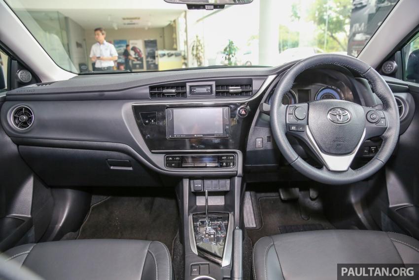 GALERI: Toyota Corolla Altis facelift 2016 kini di M'sia – 3 varian, 7 beg udara, VSC, harga dari RM117k Image #590349